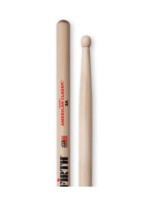Bacchette per batteria Vic Firth American Classic 3A (Made in USA)