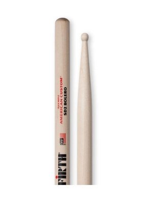 Bacchette per batteria Vic Firth American Custom SD2 Bolero (Made in USA)