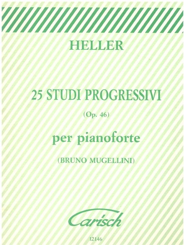 Curci Heller 25 Studi Progressivi 0p.46 per pianoforte