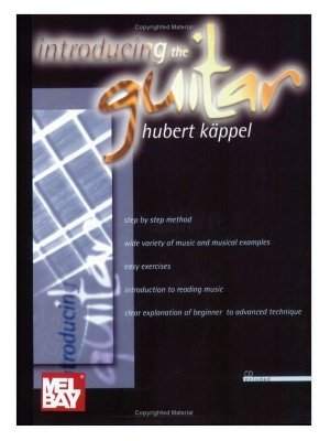 Metodo per chitarra Introducing The Guitar Hubert Kappel CD audio