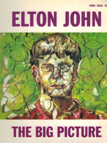Spartito Elton John The Big Picture - Piano vocal Guitar