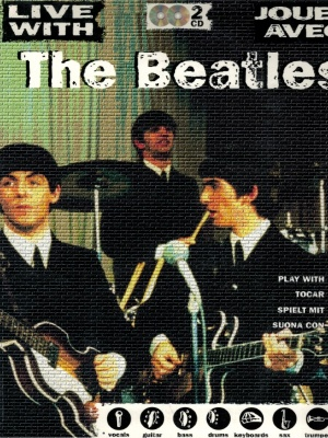 Spartito The Beatles Live With Jouez Avec con 2 Cd