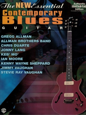 Spartito The New Essential Contemporary Blues Guitar - Guitar Tab Edition
