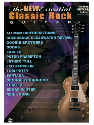 Spartito The new essential classic rock guitar - Guitar Tab Edition